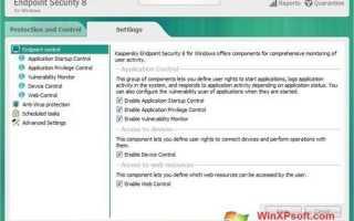 Kaspersky Endpoint Security для Windows XP (32/64 bit)