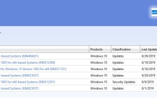 Обновления и расширения для ОС Windows