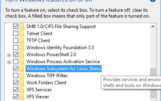 Как установить Linux в Windows 10