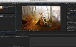 Adobe After Effects CC 2017.0 14.0.1.5 RePack by KpoJIuK (10.12.2016) скачать через торрент