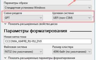 Создание загрузочной флешки Windows 10 для UEFI официально. Думал, что будет сложно