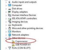 Как исправить проблему драйвера сопроцессора —>