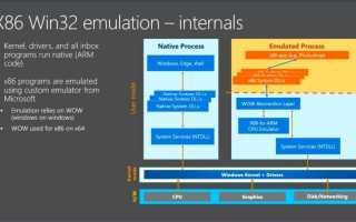Microsoft запустили полноценную Windows 10 на ARM процессоре