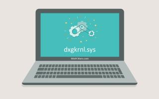 Устранение ошибок dxgkrnl.sys и загрузка файла