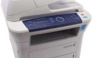 Скачать драйвер для принтера Xerox WorkCentre 3210 бесплатно