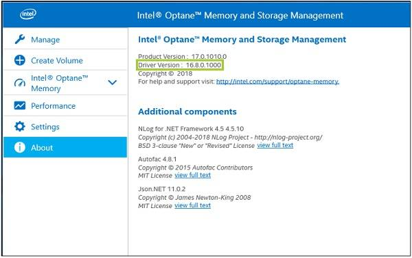 Intel; Rapid Storage Technology (Intel; RST) on Windows 10; is crashing