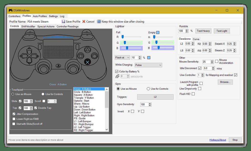 Профили-DS4Windows.png