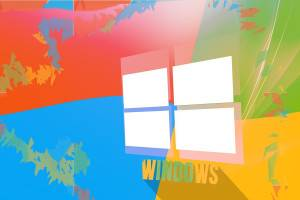 Windows Colorful Background Wallpaper