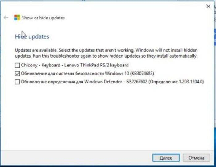 Stavim-galochku-na-punkt-Obnovlenie-dlja-sistemy-bezopasnosti-Windows-10-KB971033-nazhimaem-Dalee--e1532603409249.jpg