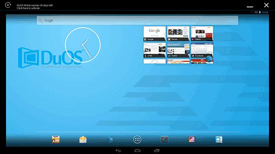 Эмулятор Android AMIDuOS