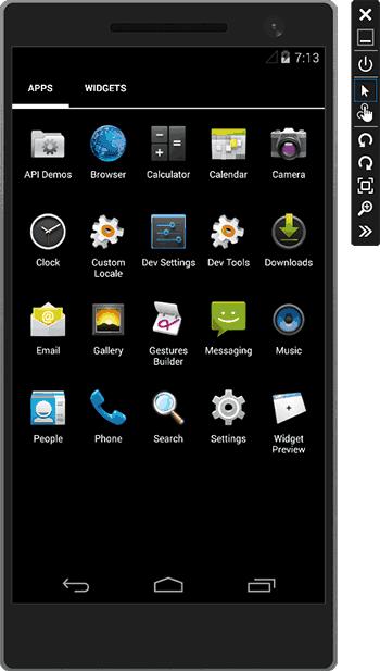 Эмулятор андроид для Visual Studio